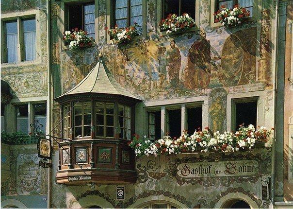 Дом на улице Берна, Швейцария