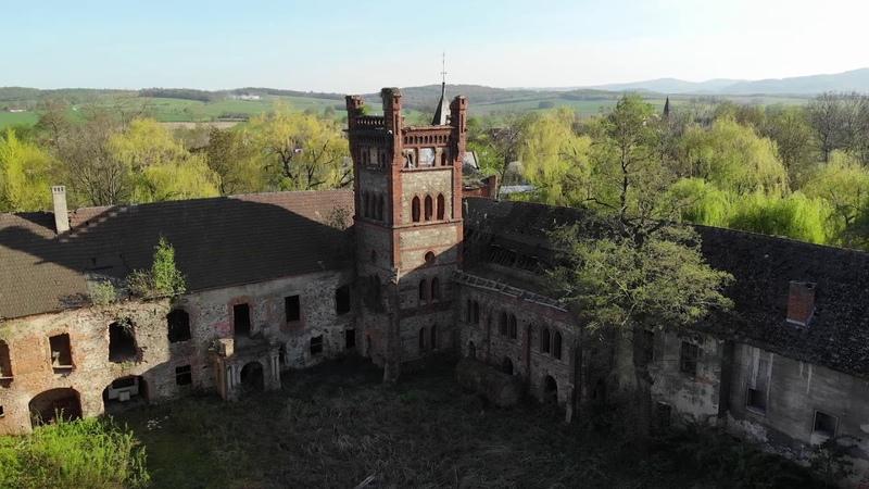 Zamek w Łące Prudnickiej [Schloss Wiese]