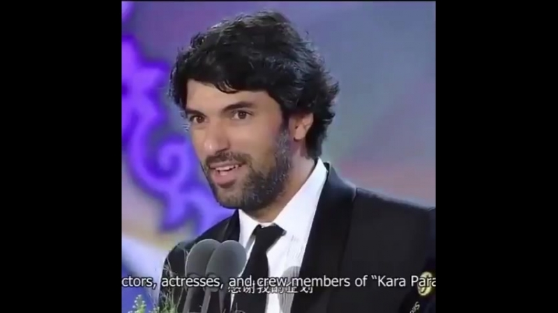 EnginAkyürek SeulDramaAwards BestActor ödülünü alışının yıldönümü - Enginin Uluslararası S