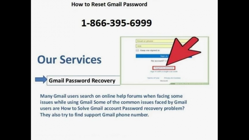 How to Reset Gmail Password | 1-866-395-6999 |