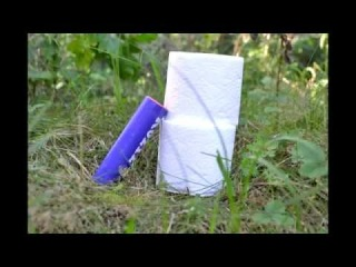 Взрыв туалетной бумаги корсаром 12