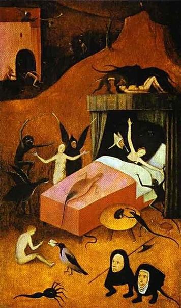 Полотно «Смерть блудницы»,