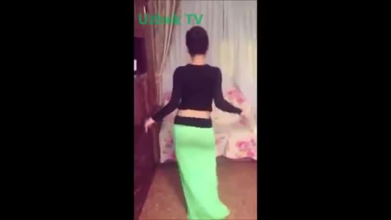 Красивая Узбечка танцует Арабский танец Ozbek qizining talanti bor ekan