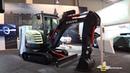 2019 Volvo EX2 Electric Compact Excavator - Walkaround - 2019 IAA Hannover