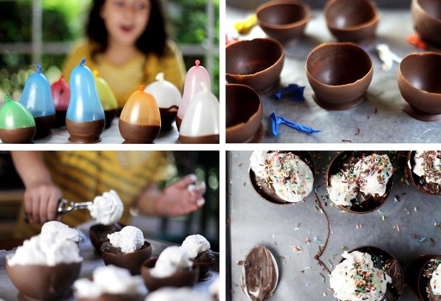 Как сделать что-нибудь из шоколада