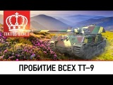 Руководство по пробитию всех ТТ-9 | Worldoftanks [wot-vod.ru]