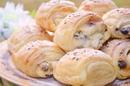 Слоёные булочки с нежной творожной начинкой