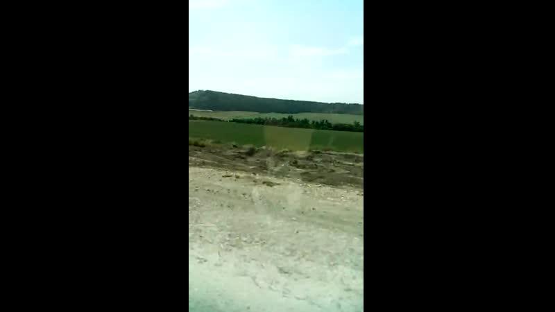 Типичная дорога в Симферополь