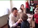 Детский медосмотр в Одесской области.