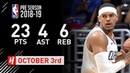 Tobias Harris Full Highlights Timberwolves vs Clippers - 2018.10.03 - 23 Pts, 4 Ast, 6 Reb!