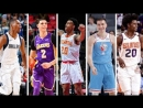 Best Plays From 17 18 All Rookie 2nd NBA Team