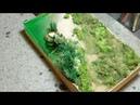 Делаем цветы для диорамы высаживаем лен Общаемся