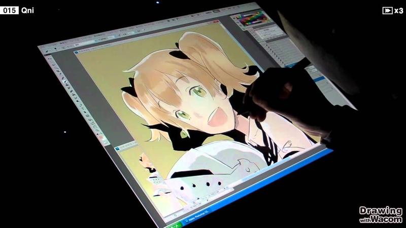 キャラクターデザイナー Qni - Drawing with Wacom (DwW)