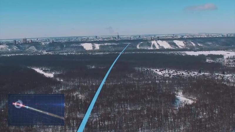 Выезд из города Уфы на автодорогу М5 Урал Восточный выезд