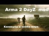 Arma 2 DayZ mod. Каникулы в зомби мире.
