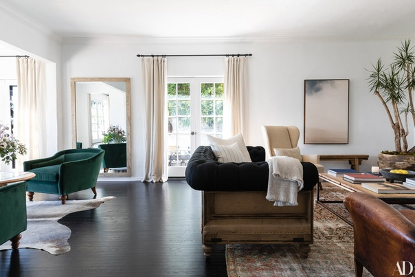 Дом Эшли Тисдейл для нового выпуска журнала Architectural Digest
