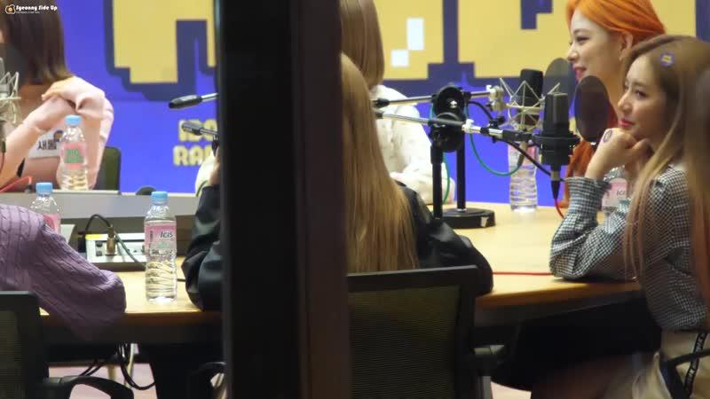 [4K60p] 181021 프로미스나인 (fromis_9) 메들리댄스 이서연 직캠 Fancam by Syeonny Side Up @ 아이돌라디오