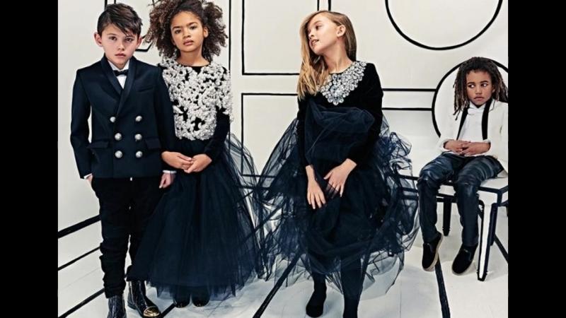Мода для детей 2018