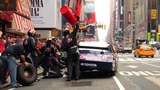 NASCARS BEST - Fastest Pit Stop in Times Square - Red Bull Racing