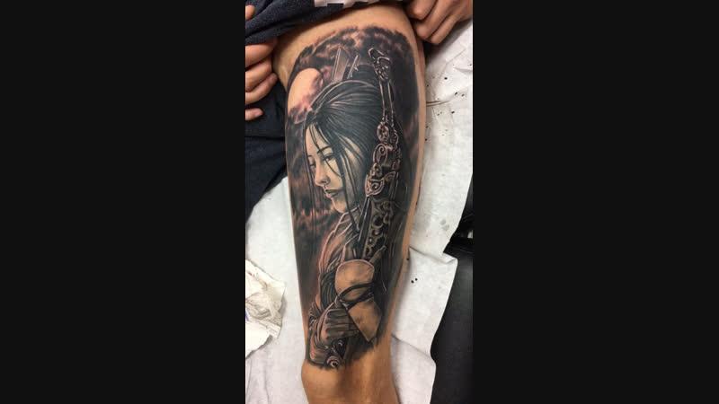 Tattoo geisha