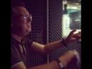 Я очень люблю когда мы вместе собираемся в студии Мы это Саша Чекушкин Сережа Арабаджи и я