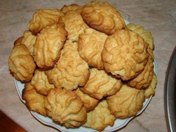 Рецепты рассыпчатого и песочного печенья