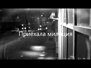 Нападение на Украинский Бизнес Банк. Воины Нарнии (13.03.2014)