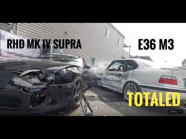 Filming a car commercial gone horribly WRONG, insane carnage [4k]