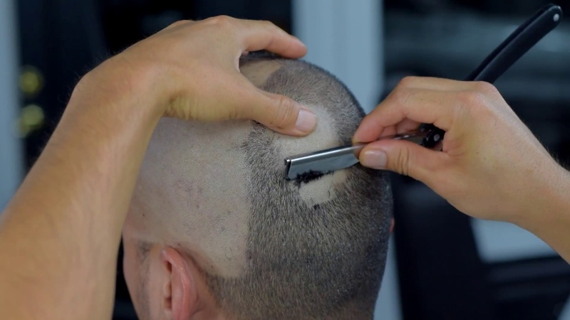 The sounds of a head shave
