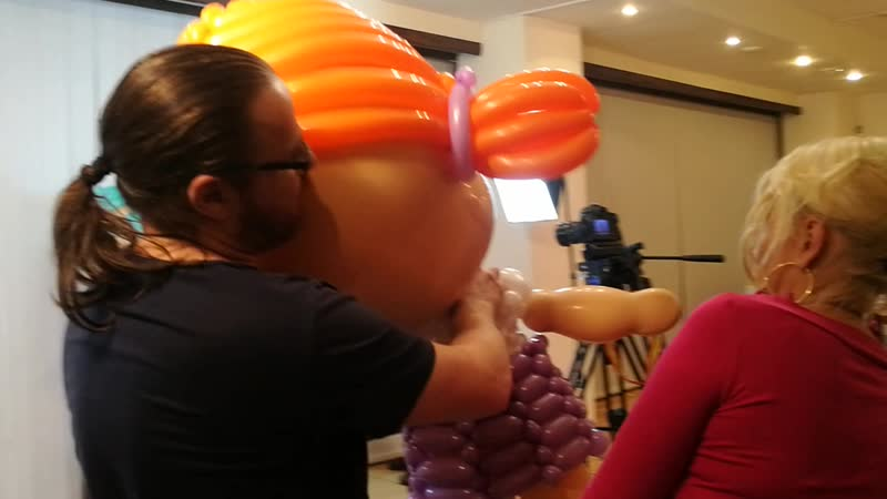 Семинар по аэродизайну Основные действия с воздушными шарами.