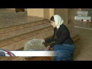 При реставрации Введенской церкви рабочие обнаружили закладной камень