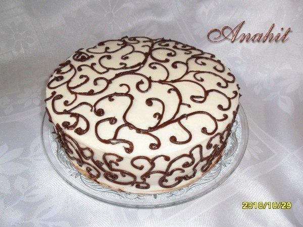 Как делать узоры на тортах в домашних условиях