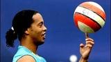 Ronaldinho Crazy Warm Up Training Skills