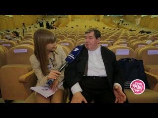 `Острый репортаж`с Аллой Михеевой, Московский Экономический Форум