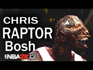 Chris Bosh Turns Into 8FT RAPTOR ! NBA 2K13 HD