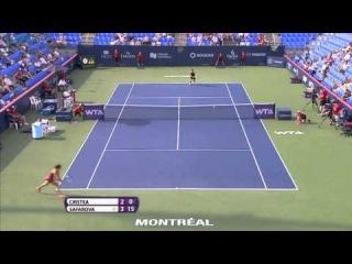 Lucie Safarova vs Sorana Cirstea R1 Montreal 2014