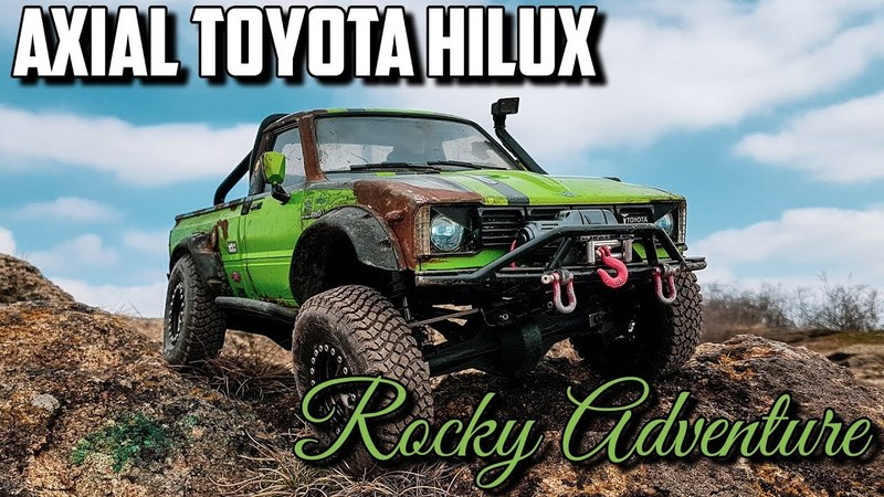 Axial Toyota Hilux - Rocky Adventure