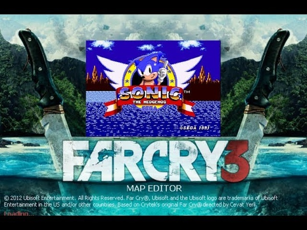 Far Cry 3 PC - Green Hill from Sonic The Hedgehog 1 - Custom Map Gameplay Download