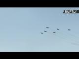 Авиашоу в честь 80-летия Центра показа авиатехники — LIVE
