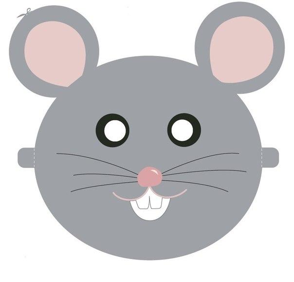 Маски своими руками крысы
