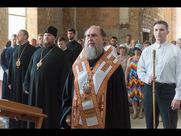 Молебен в Костромском кремле в день памяти великомученика Феодора Стратилата