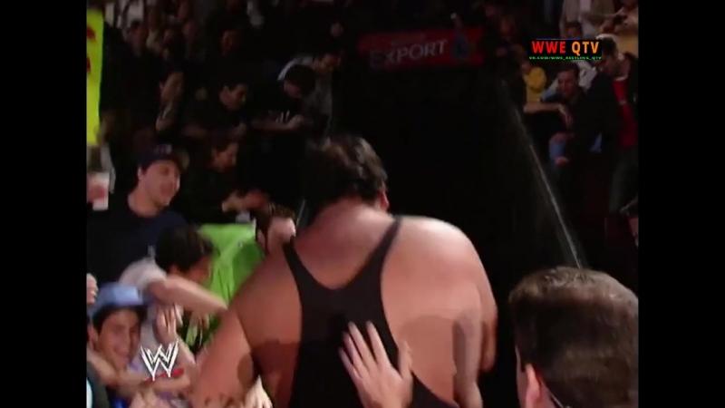[WWE QTV]☆[WWE RAW[Фоменко]14.10.02]удержаниями где угодно Биг Шоу против Букер Т]Falls Count]Booker T vs Big Show]720]