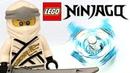 LEGO Ninjago Spinjitzu Zane review! 2019 set 70661!