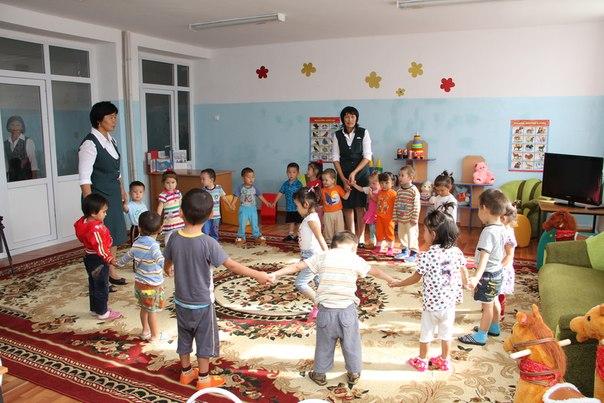 Балаңыз балабақшаға барса… казакша Балаңыз балабақшаға барса… на казахском языке