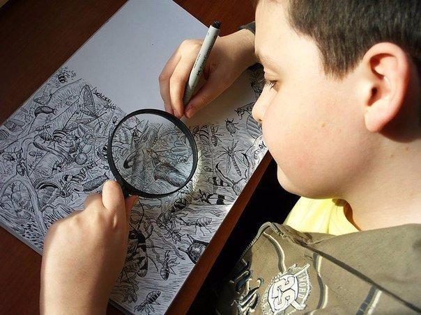 11-летний вундеркинд бросил вызов профессиональным художникам