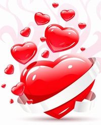 картинки где много сердечек