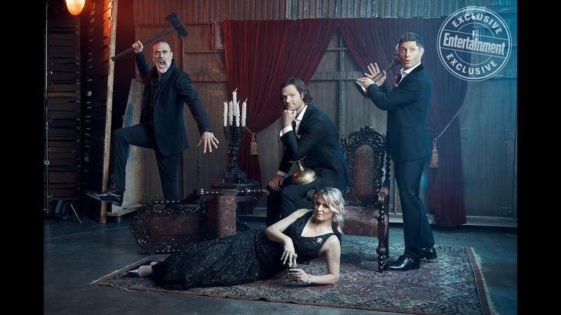 Exclusive EW portraits For 300th episode of Supernatural cast