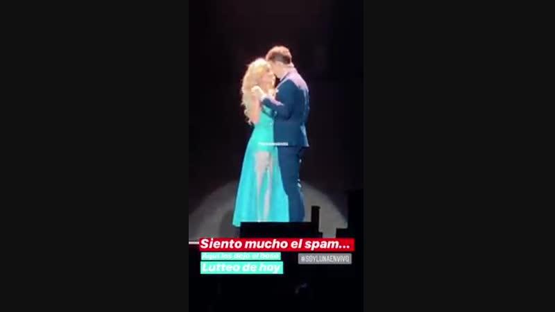 Beso Lutteo HD (Rugge y Karol) - 25_09_18 - (SoyLunaEnVivo) Mexico (Auditorio Na
