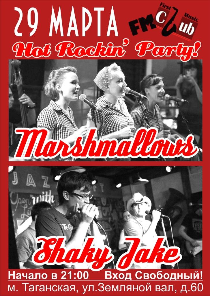 29.03 HOT ROCKIN' PARTY в FM club!