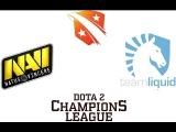 Na`Vi vs Liquid - Game 1 [D2CL Season 2] Русские Комментарии | Maelstorm & Mag
